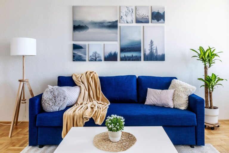Home staging nappali