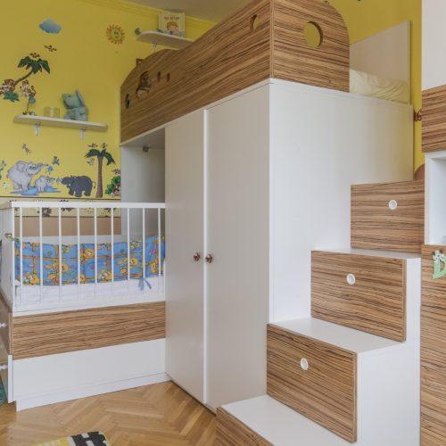 Egyedi gyerekbútor tervezés - Szalontai Kata lakberendező